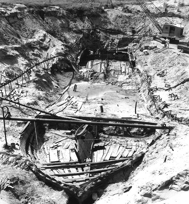 Steamboat Bertrand Excavation