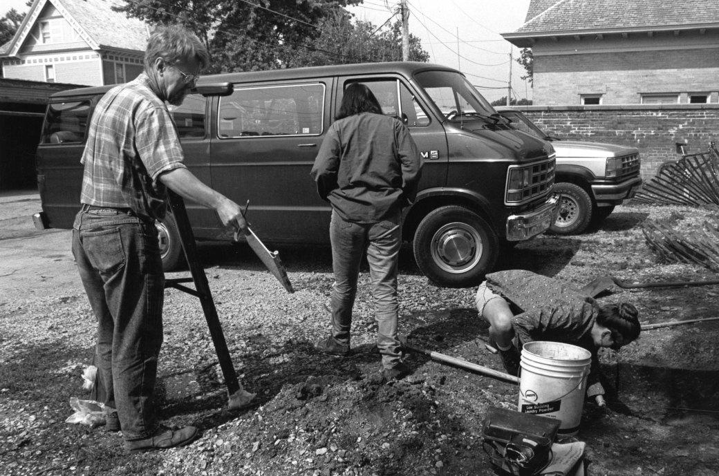 1992 Excavation