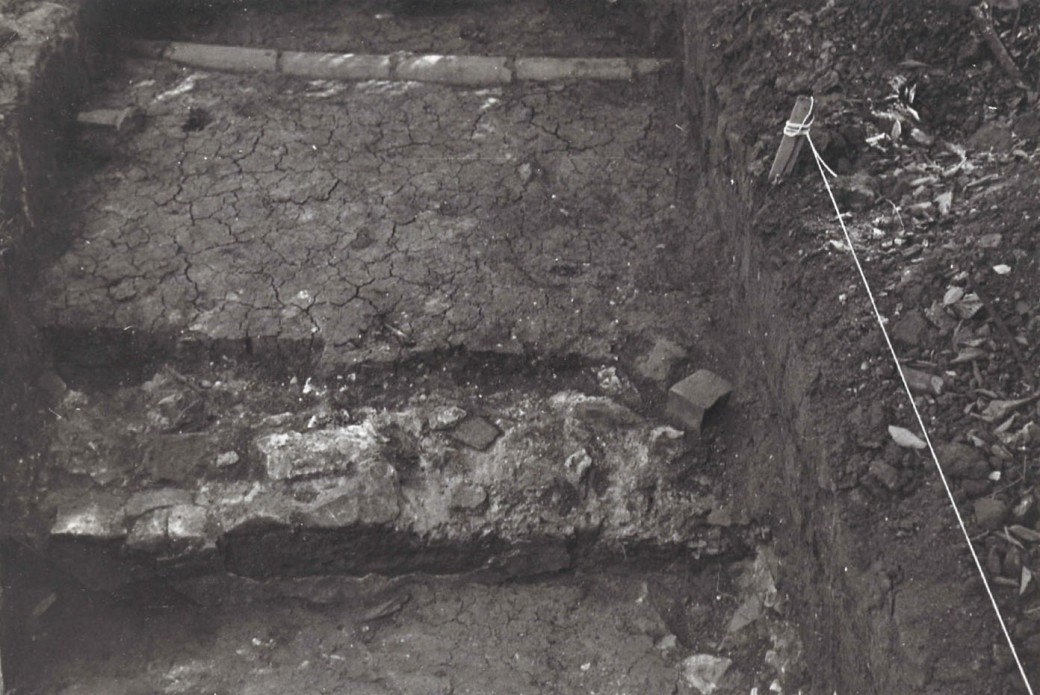 1968 Excavation - sewer pipe, foundation