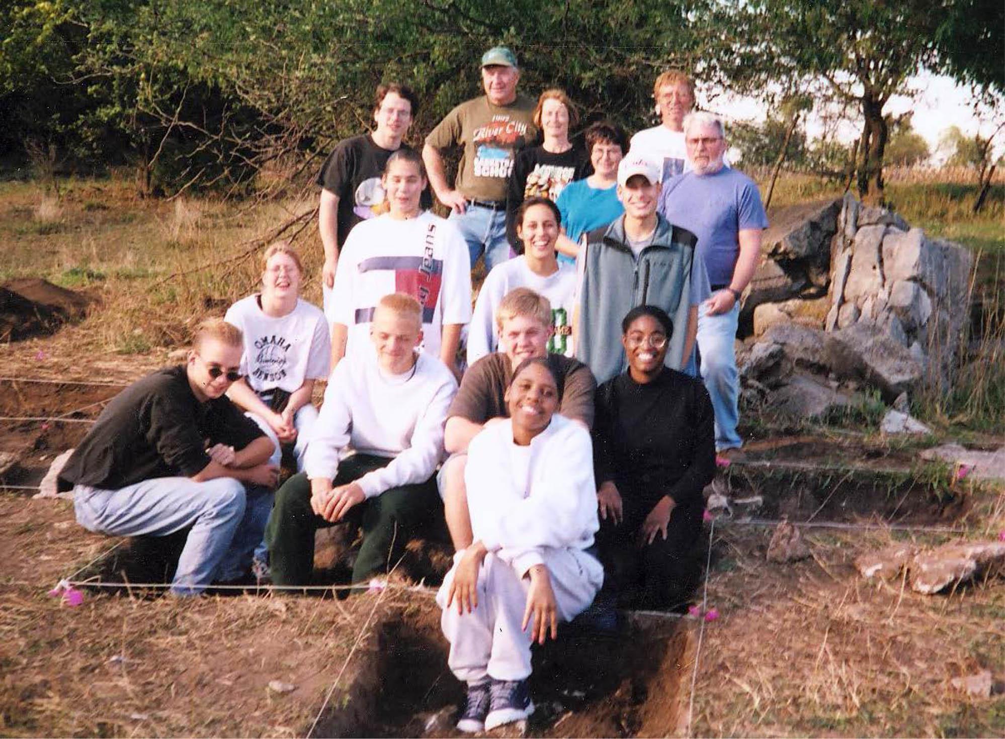 Aldrich site excavation nebraska archeology