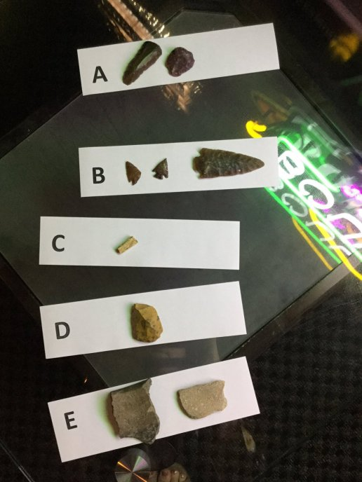 Science Cafe: Nebraska Archaeology with Morrill Hall (photo from Science Live Twitter Stream)